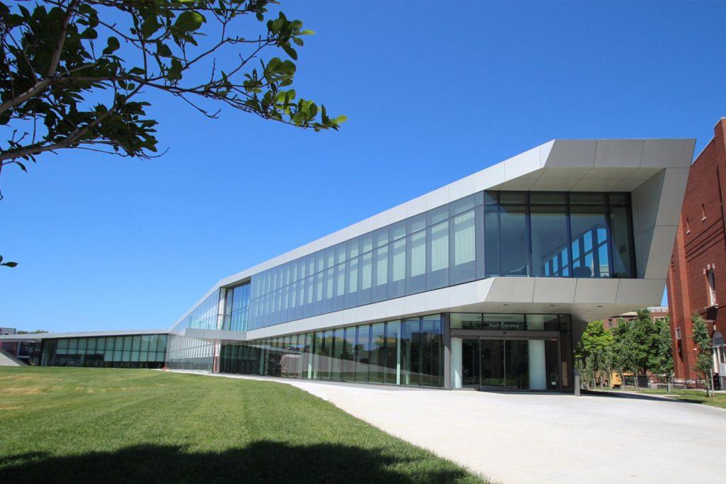 CWRU Tinkham Veale University Center Exterior