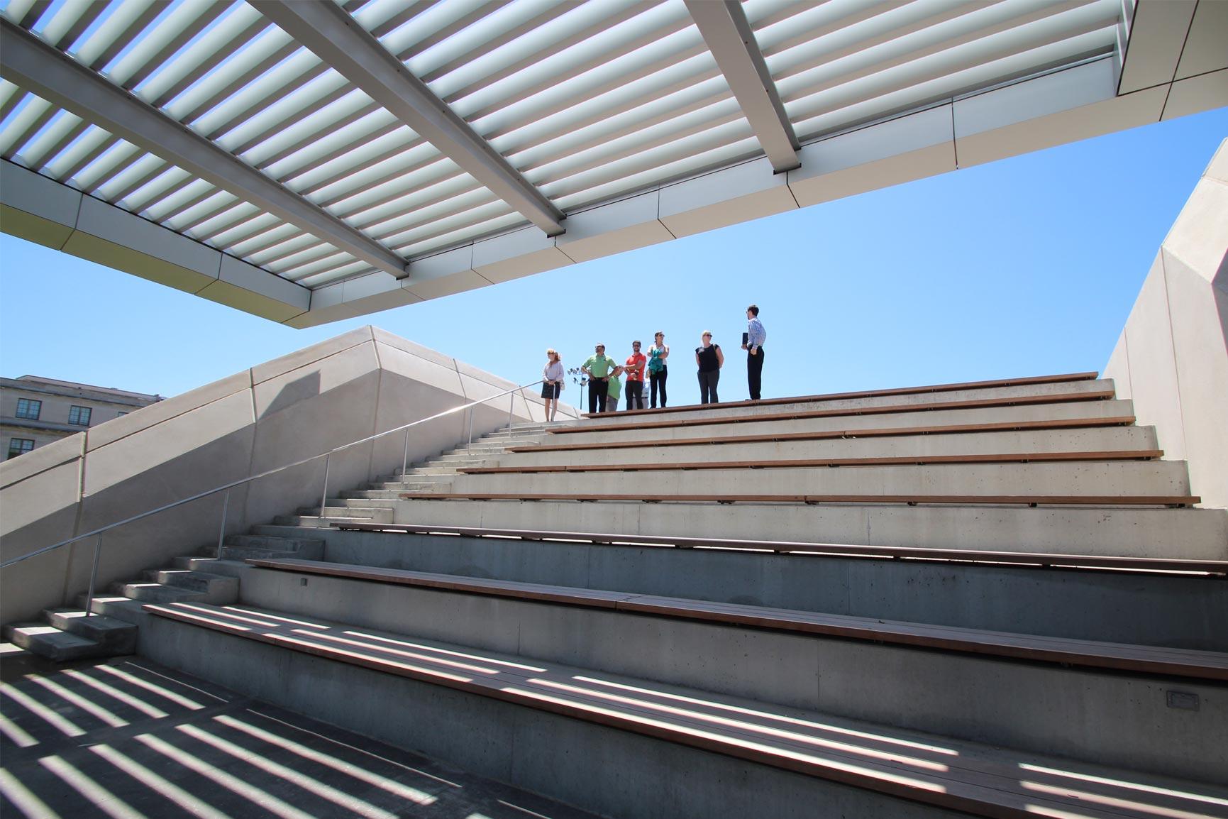 CWRU Tinkham Veale University Center Amphitheater