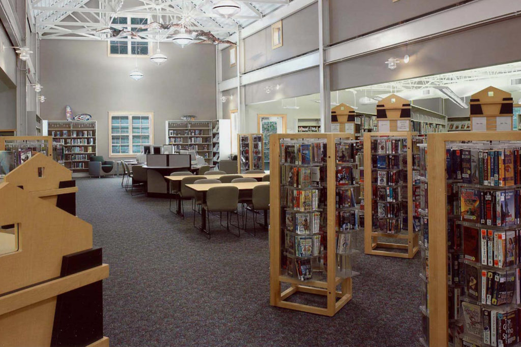 ASCPL Richfield Library Interior