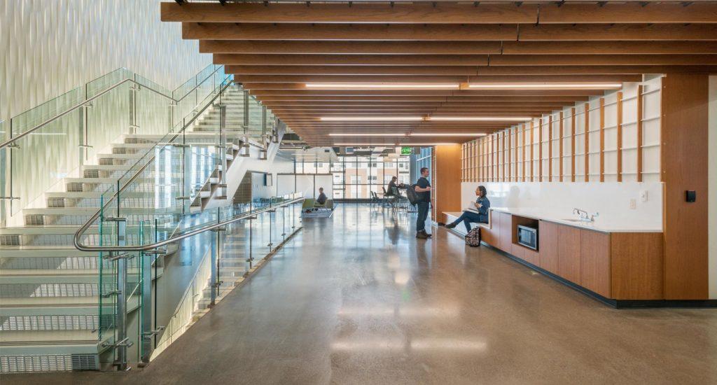 CSU Engineering Building Collaboration Area
