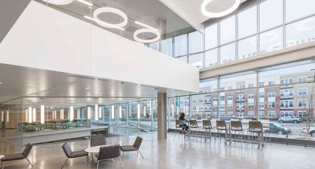 CSU Engineering Building Lobby