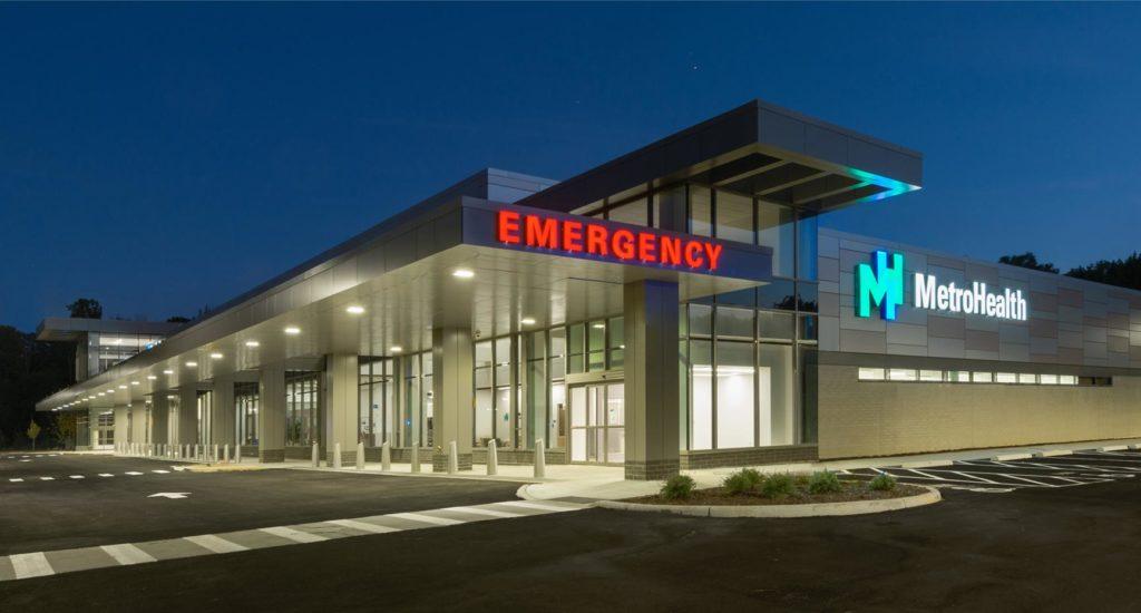 MetroHealth Brecksville Health-Center Emergency Entrance