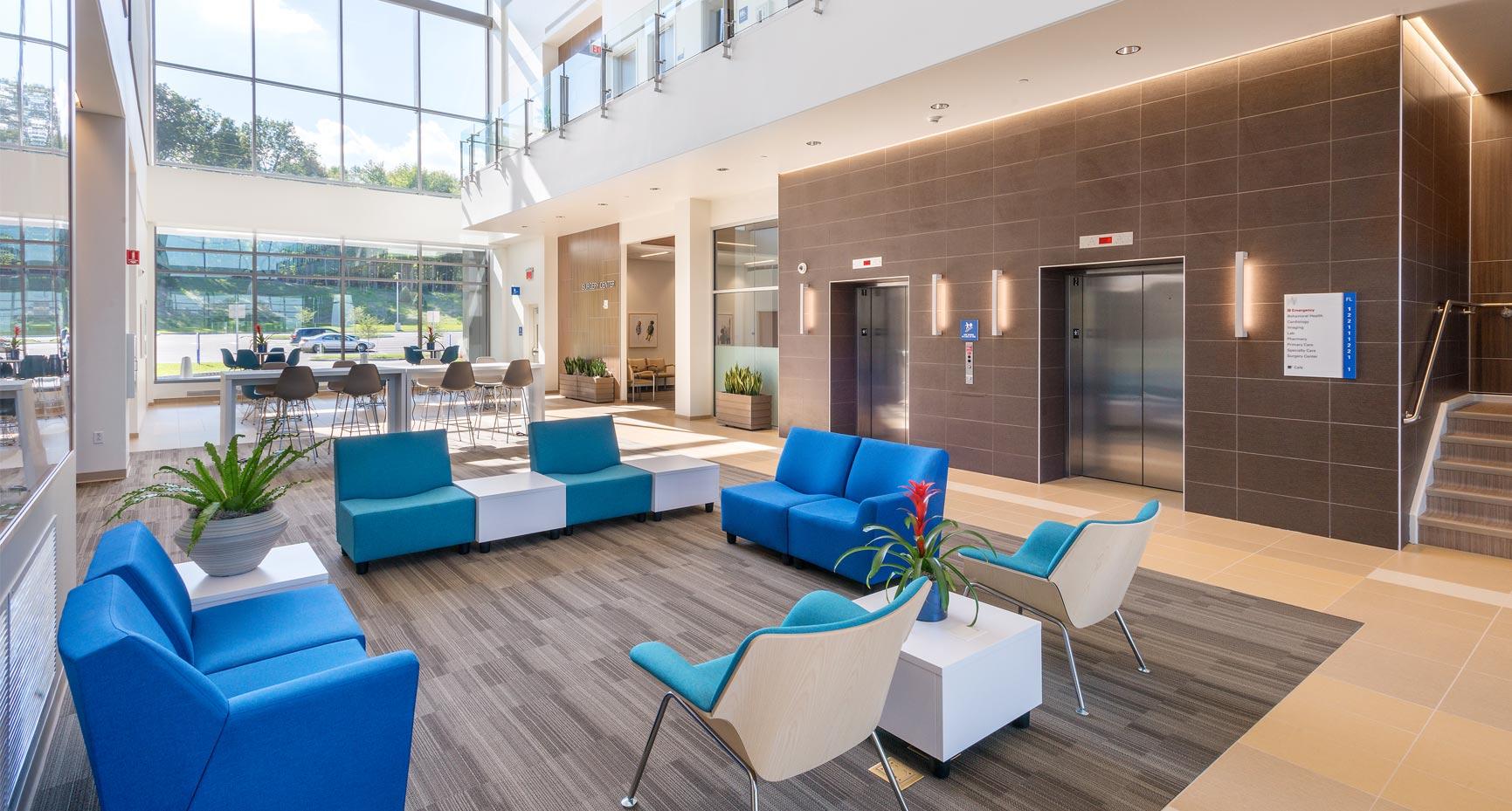 MetroHealth Brecksville Health Center Lobby