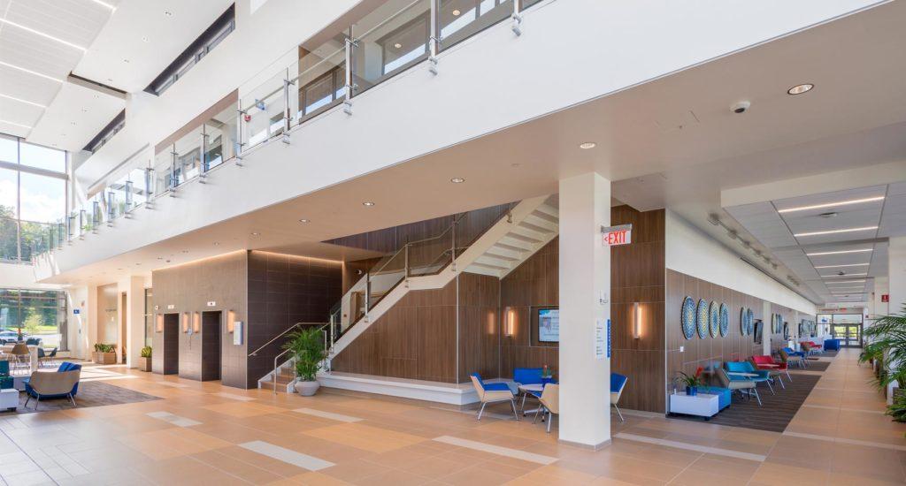 MetroHealth Brecksville Health Center Main Lobby
