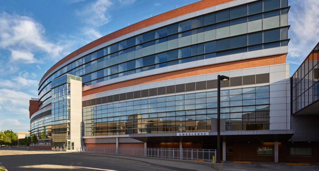 MetroHealth Critical Care-Pavilion Vertical Expansion Exterior