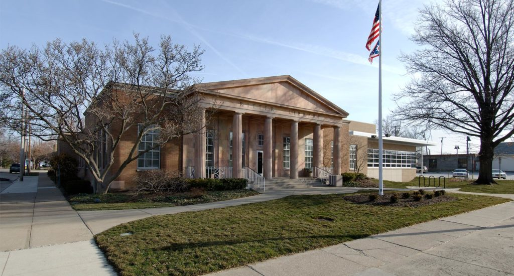 Ritter Public Library Exterior