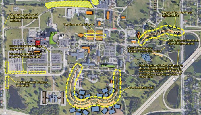 Dayton VA Medical Center - Campus Master Plan